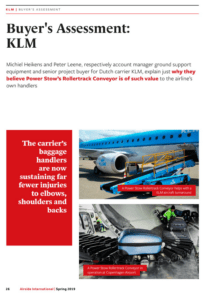 Ramp Equipment News Buyer´s Assessment KLM